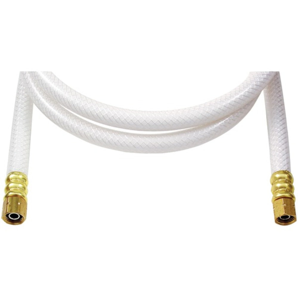 "No Logo IPL05 Poly-Flex Ice Maker Connectors (5 ft x 1/4""; Lead-free poly)"