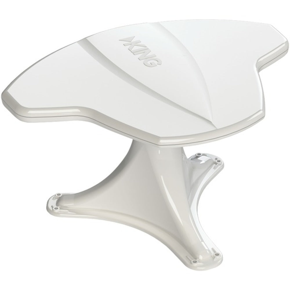 KING OA8500 KING Jack Antenna with Aerial Mount and Signal Finder (White)