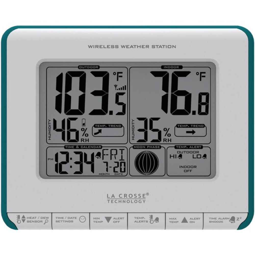 La Crosse Technology 308-1711BL Wireless Weather Station - GadgetSourceUSA