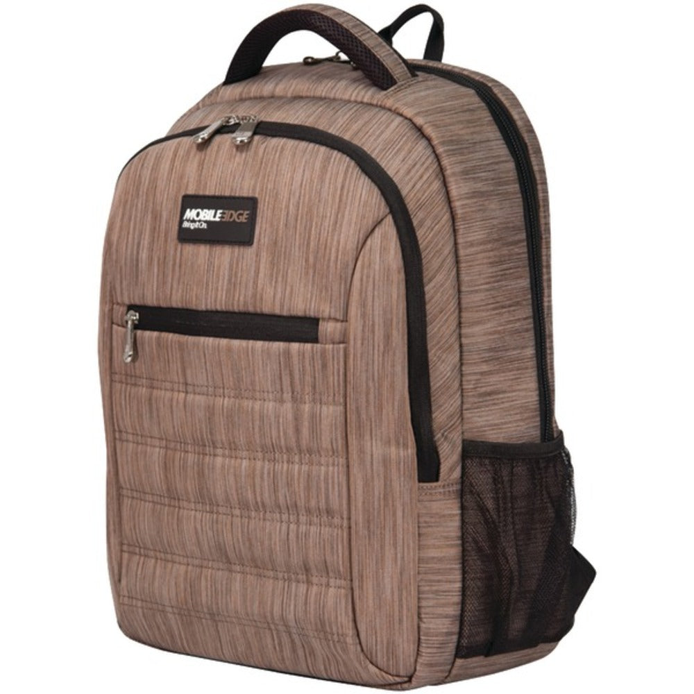Mobile Edge MEBPSP8 SmartPack Backpack (Wheat) - GadgetSourceUSA