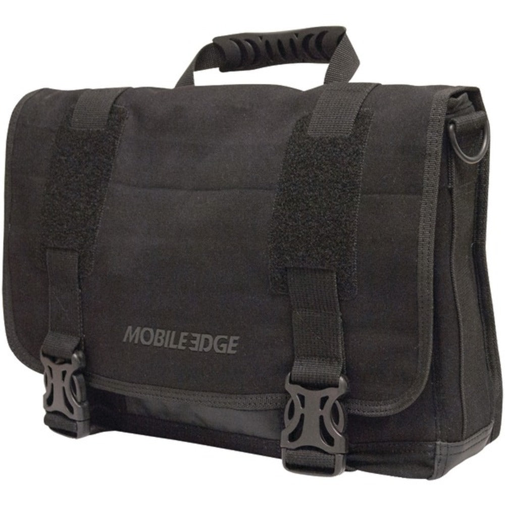 "Mobile Edge MEUME1 14"" PC/15"" MacBook Pro ECO Chromebook/ Ultrabook Messenger Bag (Black) - GadgetSourceUSA"