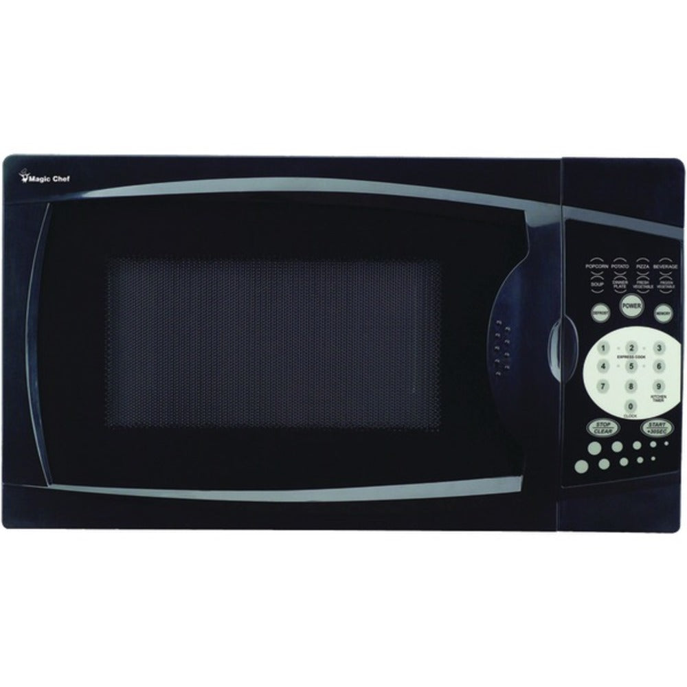 Magic Chef MCM770B .7 Cubic-ft, 700-Watt Microwave with Digital Touch (Black)