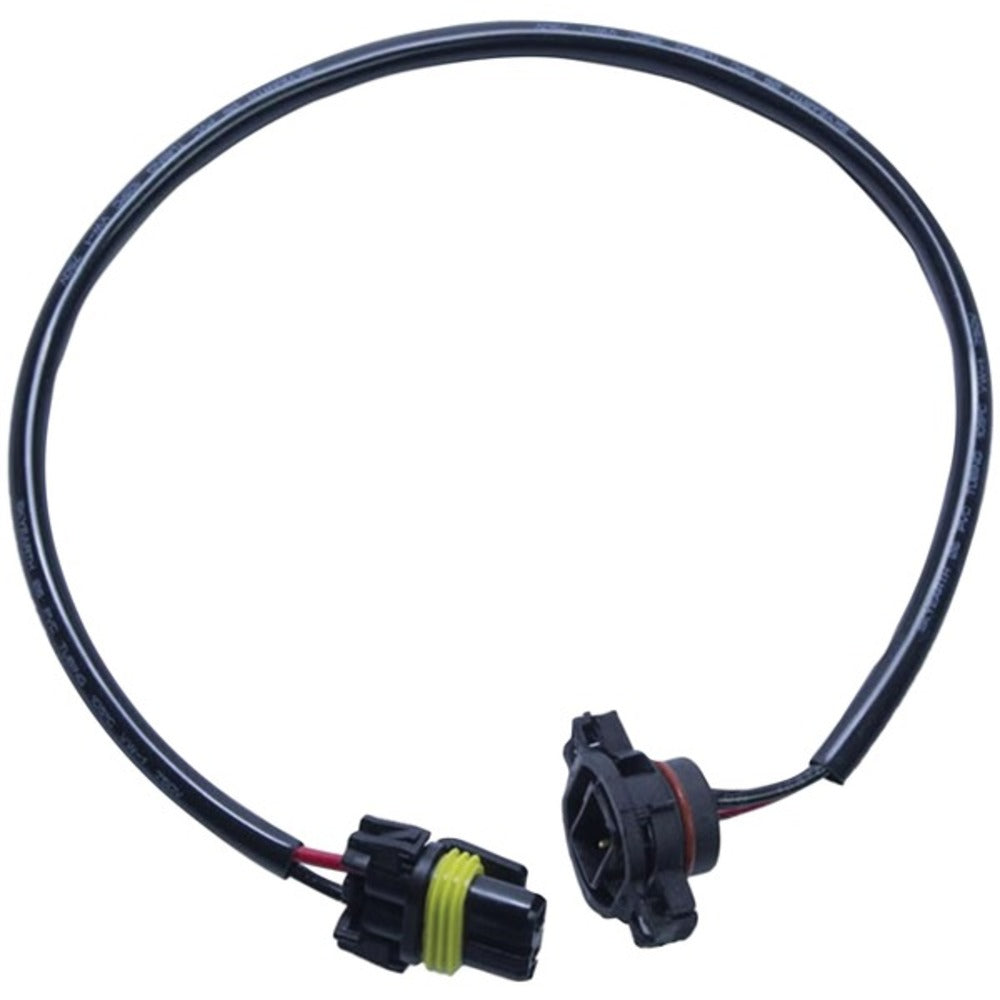 Heise LED Lighting Systems HE-JWFLAH 9145 to PSX24W Connector Adapter Harness for 2010 and Up Jeep Wrangler - GadgetSourceUSA