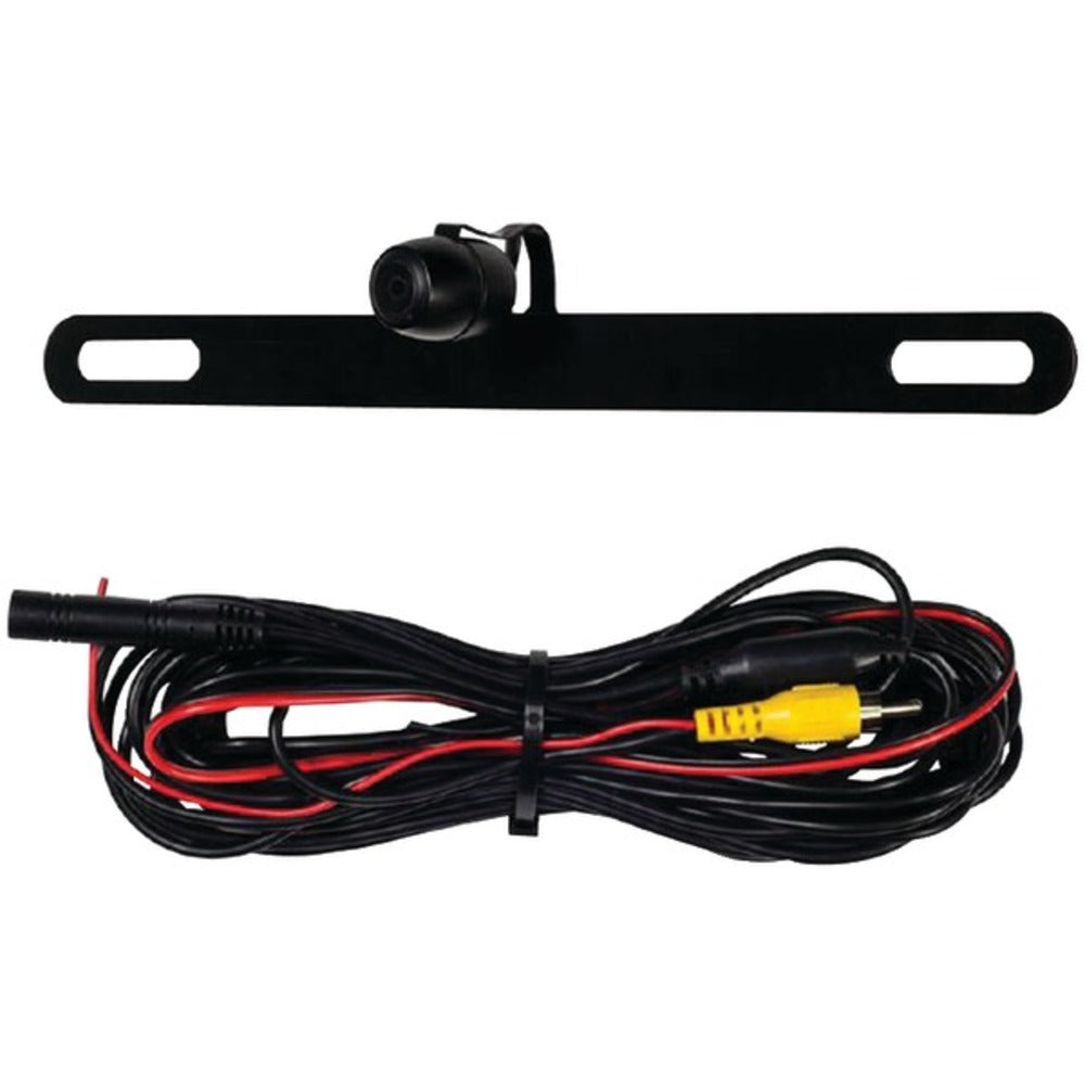 iBEAM Vehicle Safety Systems TE-BPC Top-Mount Above License Plate Camera - GadgetSourceUSA