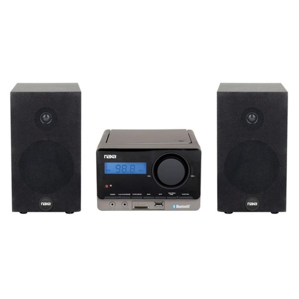 Naxa NS-442 MP3 Microsystem with Bluetooth - GadgetSourceUSA