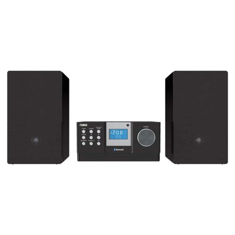 Naxa NS-443 CD Microsystem with Bluetooth - GadgetSourceUSA