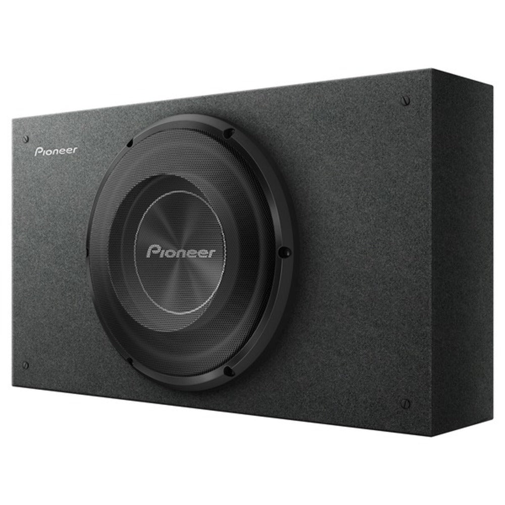 Pioneer TS-A2500LB A-Series Shallow-Mount Pre-Loaded Enclosure (10-Inch Subwoofer) - GadgetSourceUSA