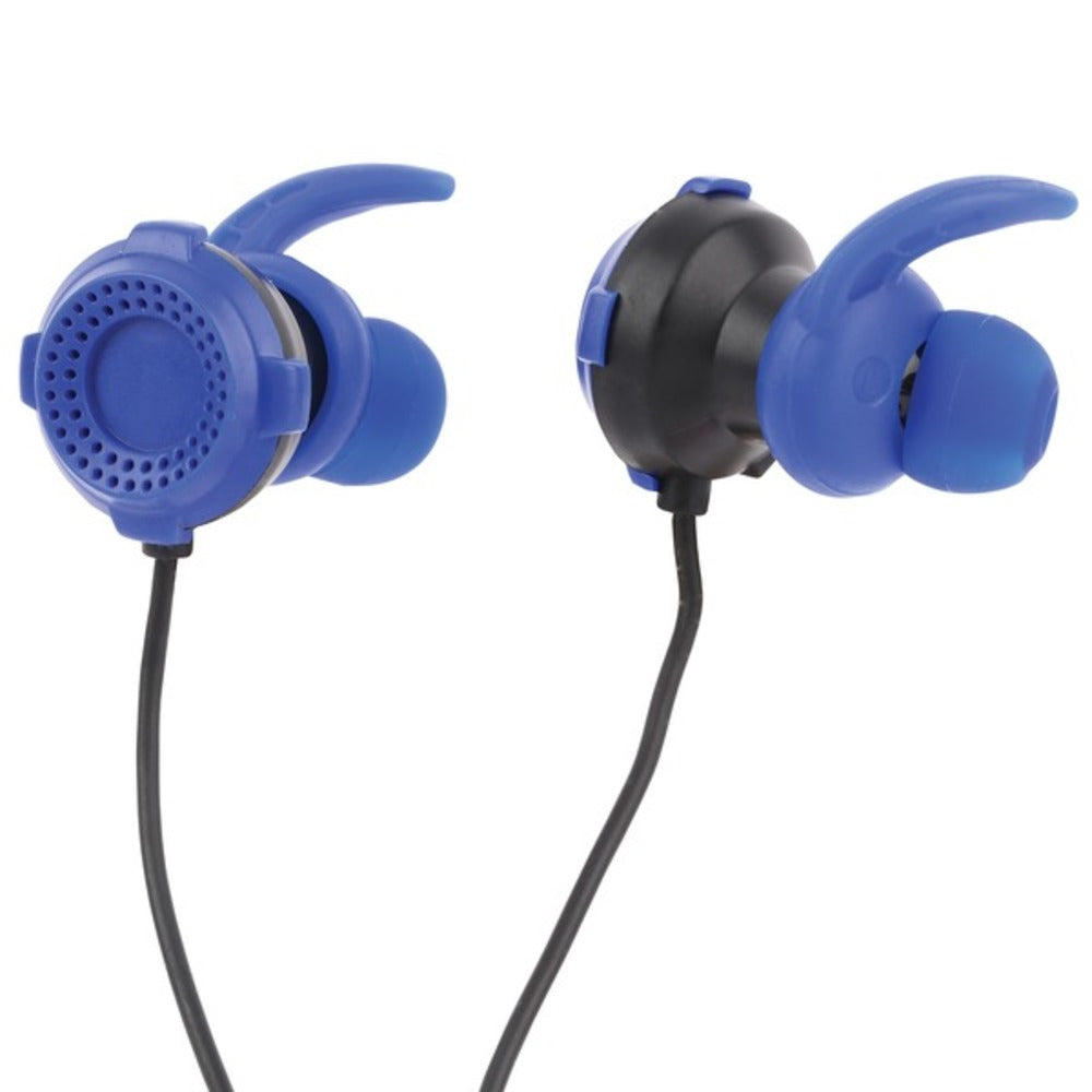 Lvlup LU701-BLU Gaming Earbuds with Removable Microphone (Blue) - GadgetSourceUSA