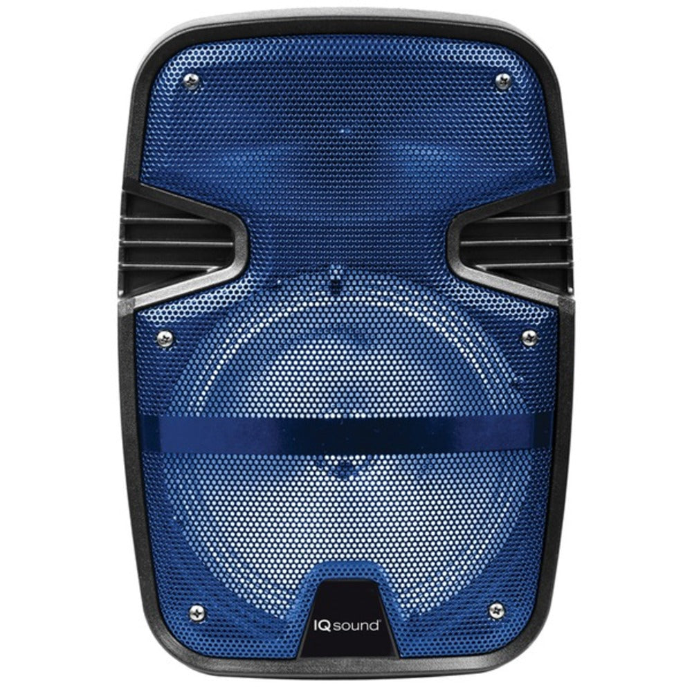 Supersonic IQ-4078DJBT- Blue 8-Inch Tailgate Bluetooth Speaker (Blue)