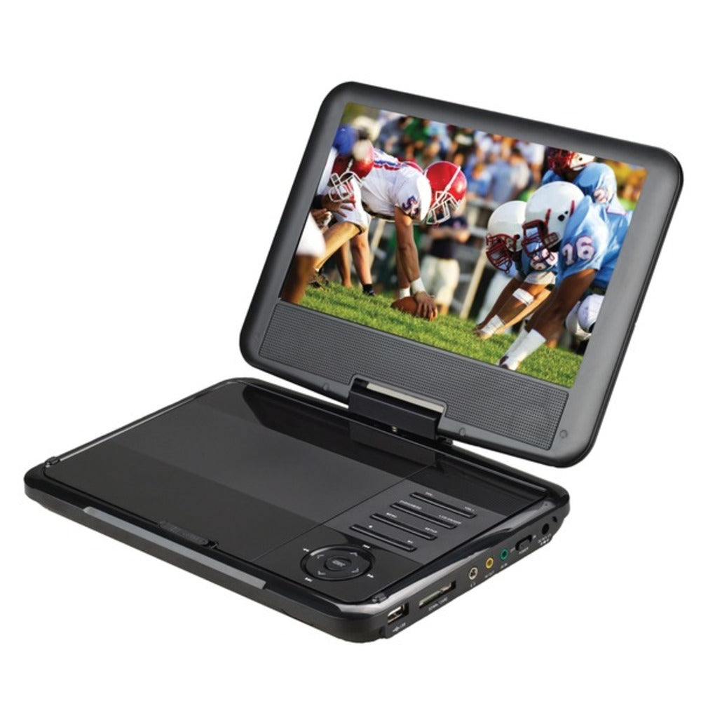 Supersonic SC-179 9-Inch Portable DVD Player with Swivel Display - GadgetSourceUSA