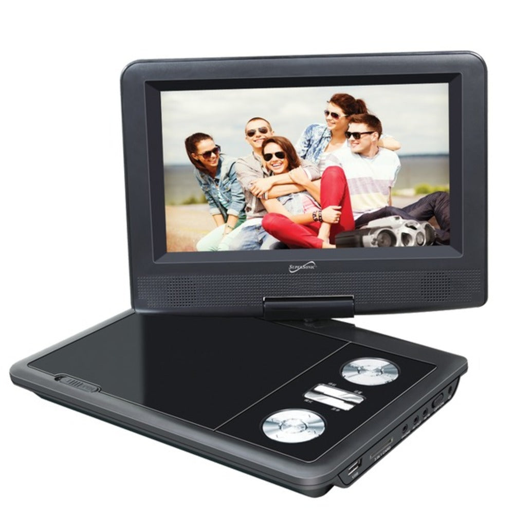 Supersonic SC-257 7-Inch DVD Player with TV Tuner - GadgetSourceUSA