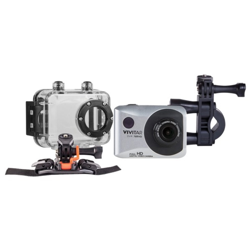 Vivitar DVR786HD-SIL DVR 786HD ActionCam - GadgetSourceUSA