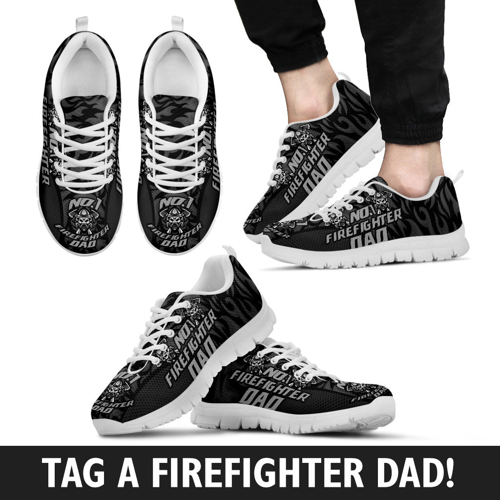 No1 Firefighter Dad Sneakers