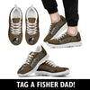 World's Best Fishing Dad Sneakers
