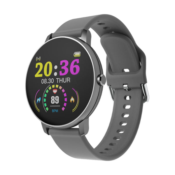 Heart Rate Blood Pressure Monitor | Timely P8 1.3' Full Touch Screen Wristband | Life Assistant Camera Control Smart Watch - GadgetSourceUSA