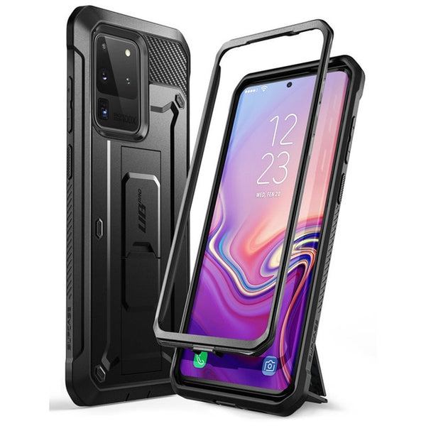 Samsung Galaxy S20 Ultra Case / S20 Ultra 5G Case Holster Cover WITHOUT Built in Screen Protector - GadgetSourceUSA
