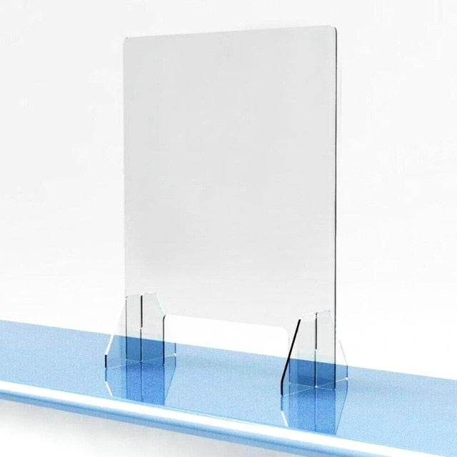 Sneeze Guard | Acrylic Shield Protection for Desktop Counters | Various Sizes | For Salons, Retailers, Restaurant, Grocery Stores - GadgetSourceUSA