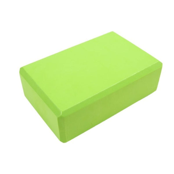 Yoga Block | 1 Pc Foam Brick | Stretching, Gym, Pilates | Home Fitness - GadgetSourceUSA