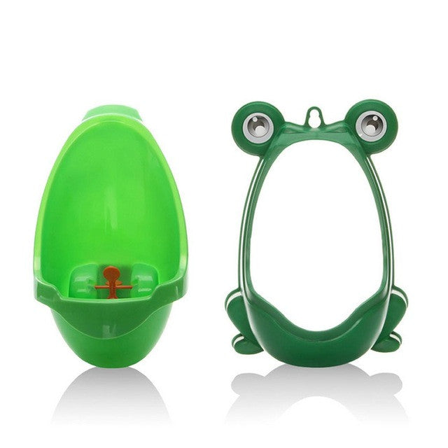 Potty Trainer | Froggy Potty for Boys | Urinal Toilet Training for Boys | Bathroom Pee Trainer - GadgetSourceUSA