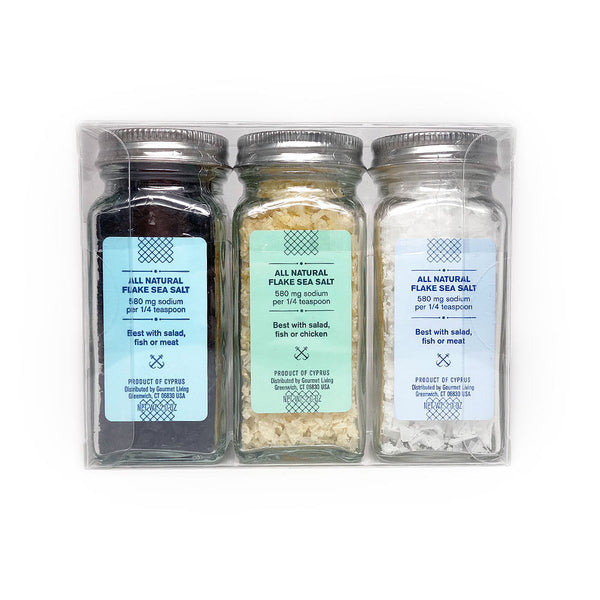 Mediterranean Sea Salt Trio
