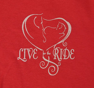 Baby Girl Heart Love Short Sleeve T-shirt - Live for the Ride