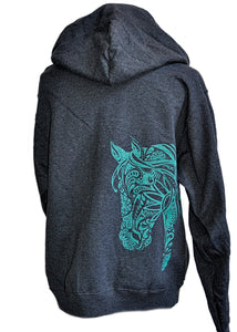 BoHo Horse Hoodie - Live for the Ride