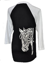 BOHO horse Baseball Jersey - Live for the Ride