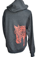 horse head Horse Hoodie - Live for the Ride horse gift