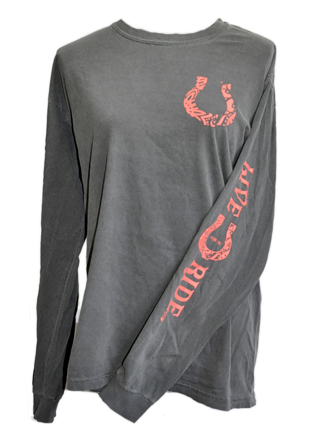 BOHO Horse LONG Sleeve T-shirt - Live for the Ride