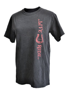 BOHO Horse SHORT Sleeve T-shirt - Live for the Ride