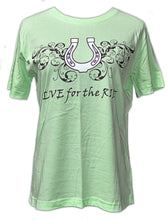 Lucky Horseshoe T-Shirt - Live for the Ride