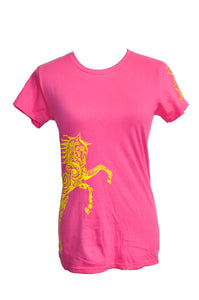 Paisley Pony Horse T-shirt WOMEN'S Cut - Live for the Ride