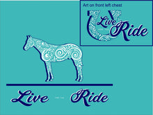 Doc's Horse SHORT Sleeve T-shirt - Live for the Ride