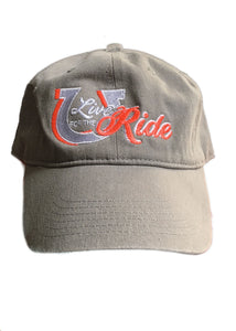 Lucky Horseshoe Ball Cap - Live for the Ride
