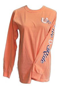 Doc's Horse LONG Sleeve T-shirt - Live for the Ride