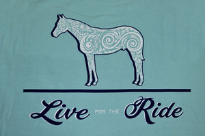 Doc's Horse Tank Top T-shirt - Live for the Ride