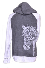 BoHo Horse Hoodie 2 Tone - Live for the Ride