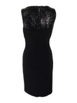 Lauren by Ralph Lauren Women's Sequin-Trim Keyhole Dress