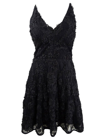 Xscape Women's Lace Applique Fit & Flare Gown