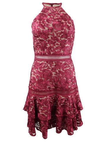 Xscape Women's Lace Halter Dress