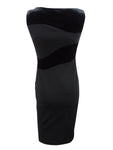 Calvin Klein Women's Petite Velvet-Swirl Sheath Dress