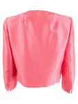 Le Suit Women's Open-Front Jacket 6, Coral