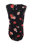 Nine West Women's Floral-Print Top