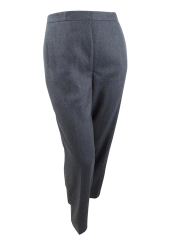 Sutton Studio Women's Slim Dress Pants (16, Charcoal)
