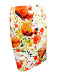 Kasper Women's Floral-Print Scuba Pencil Skirt