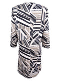 Kasper Women's Plus Size Abstract-Print Ottoman Jacket