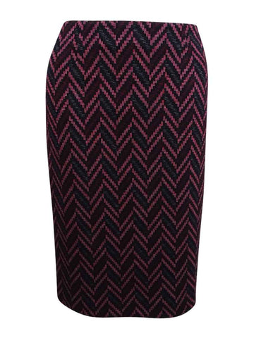Kasper Women's Jacquard Pencil Skirt