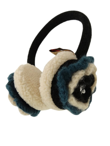 American Rag Women's Winter Fashion Earmuff with Flower