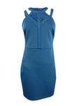 Guess Women's Caged Scuba Bodycon Dress
