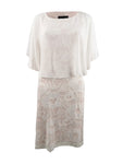 Connected Women's Lace Capelet Dress